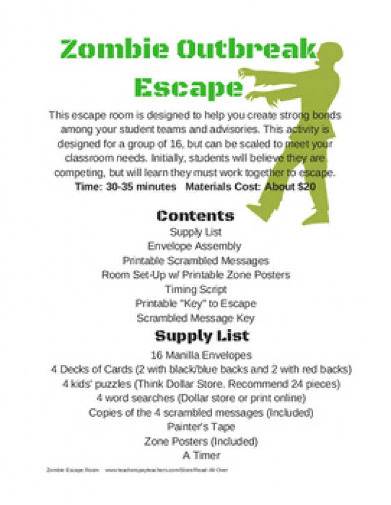 Free Printable Escape Room Clues | Download Them Or Print Inside - Printable Escape Room Free
