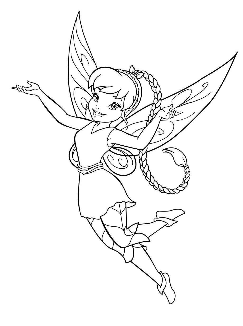 Free Printable Fairy Coloring Pages For Kids   Coloring Therapy - Free Printable Fairy Coloring Pictures