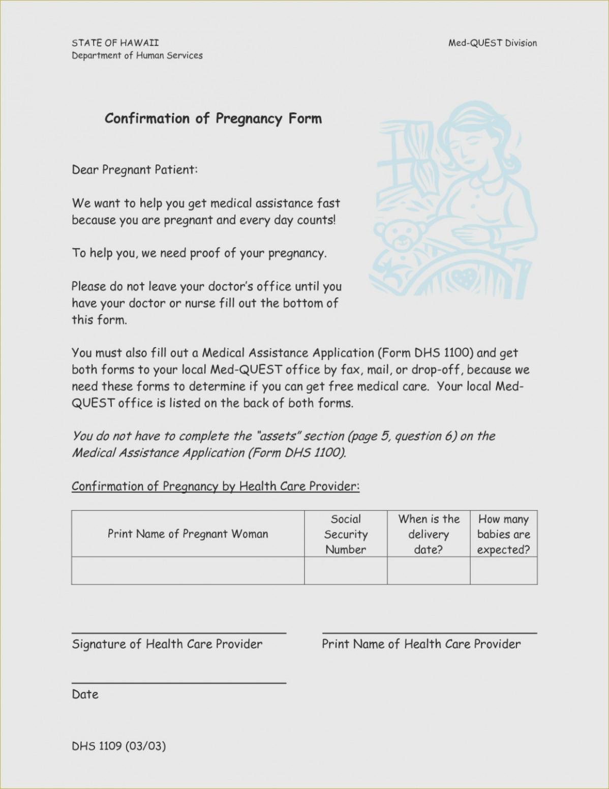 Free Printable Fake Pregnancy Papers   Sample Documents – Proof Of - Free Printable Fake Pregnancy Papers