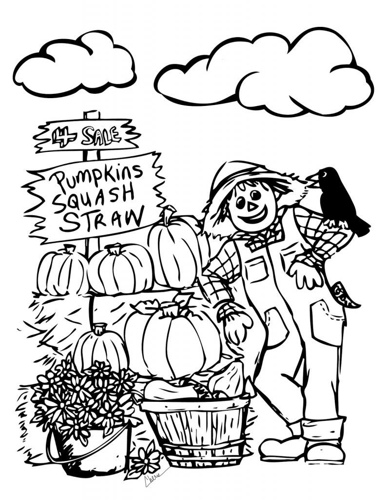 Free Printable Fall Coloring Pages For Kids | Printables | Fall - Free Printable Autumn Coloring Sheets