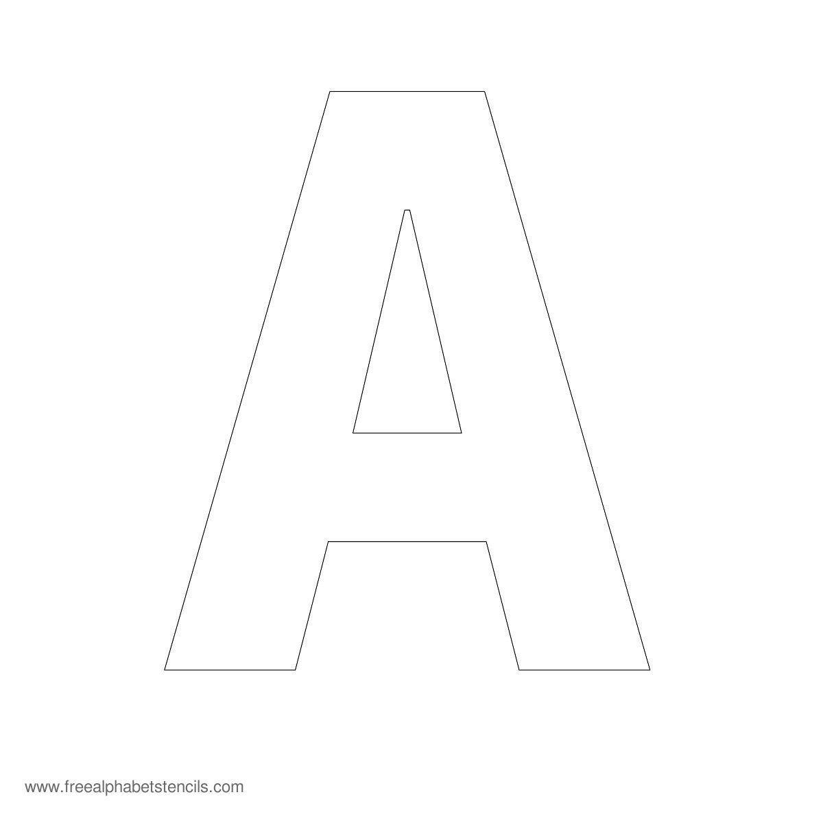 Free Printable Fancy Letters   Free Printable Large Alphabet Letter - Free Printable 8 Inch Letters