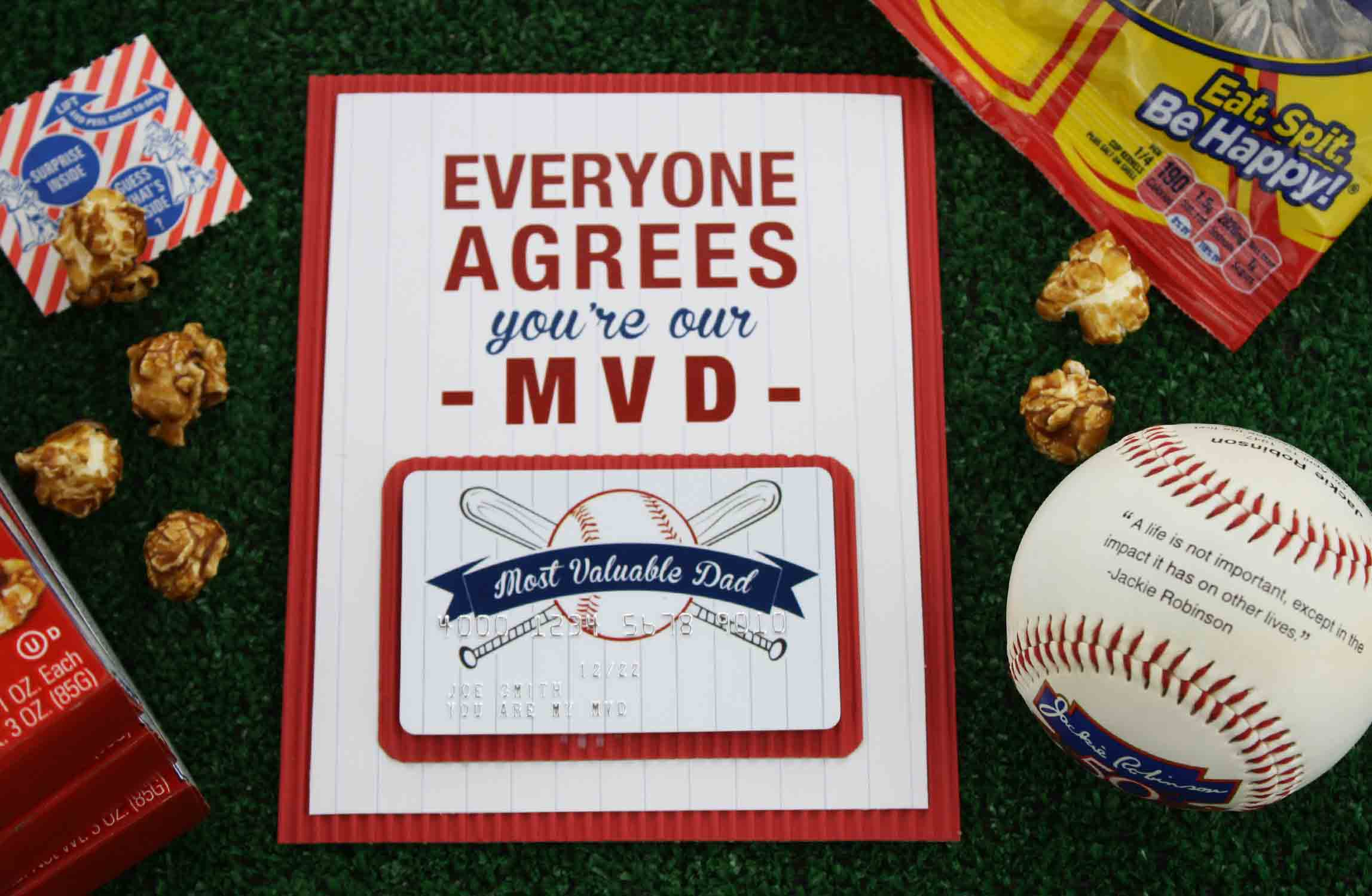 "Free Printable} Father's Day ""most Valuable Dad"" 