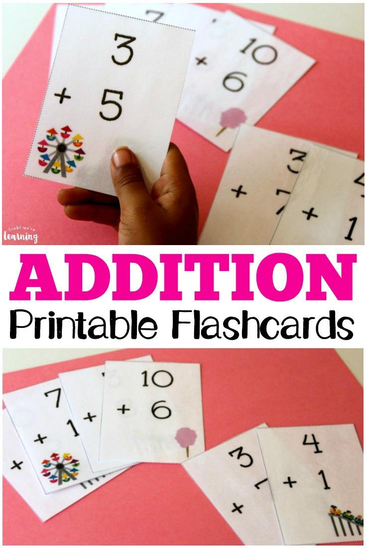 Free Printable Flashcards: Addition Flashcards 0-10 - Free Printable Multiplication Flash Cards 0 10