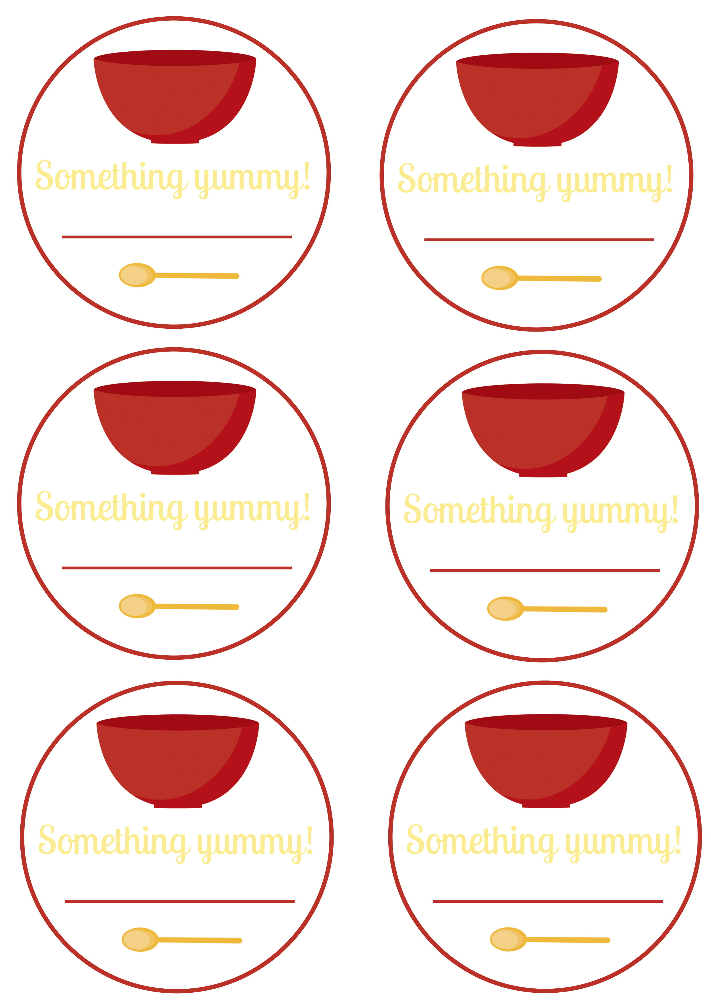 Free Printable - Food Labels And Canning Labels | Blissfully Domestic - Free Printable Food Labels