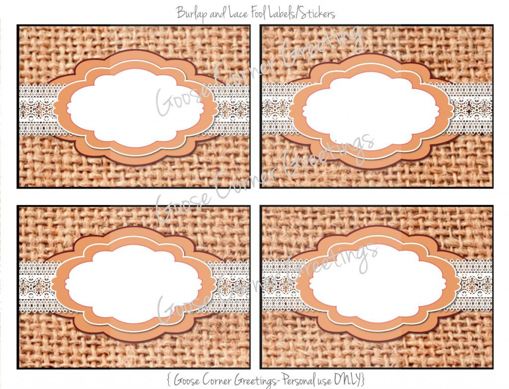 Free Printable Food Tags For Buffet | Free Printable - Free Printable Food Tags For Buffet