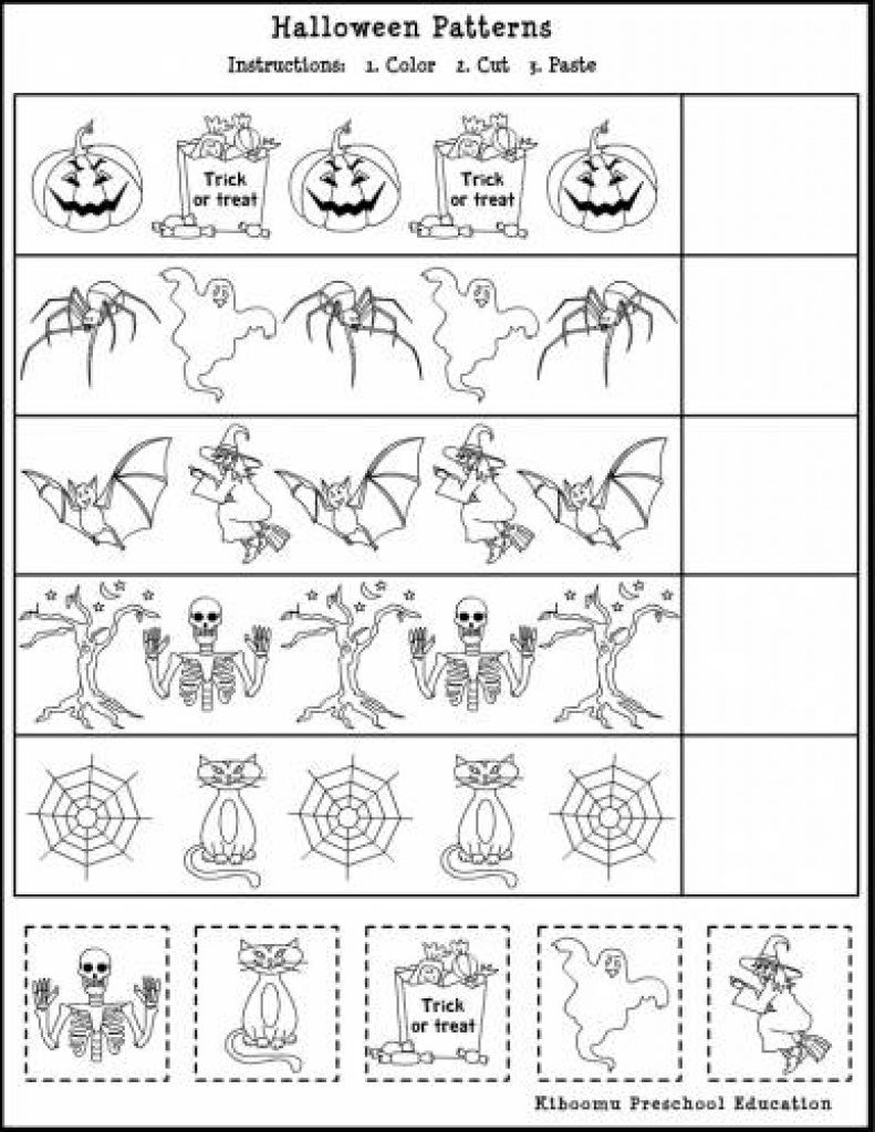 Free Printable French Halloween Worksheets | Free Printable - Free Printable French Halloween Worksheets