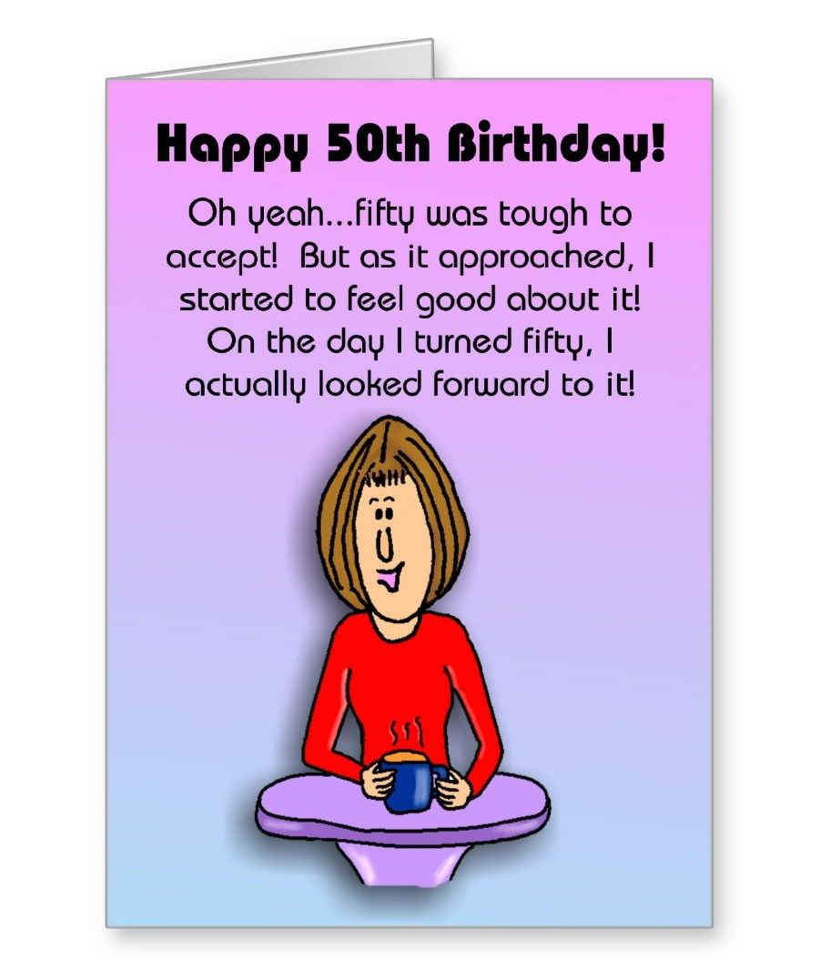 Free Printable Funny Birthday Cards Card Design Ideas Happy Gift - Free Printable 50Th Birthday Cards Funny