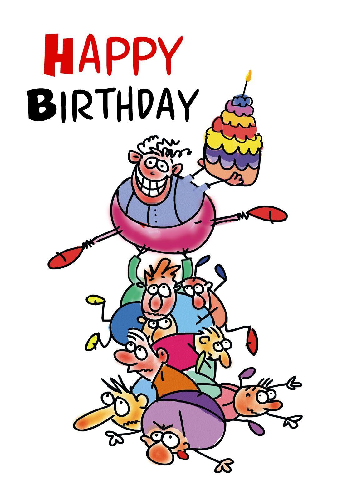 Free Printable Funny Birthday Greeting Card   Gifts To Make   Free - Free Printable Funny Birthday Cards