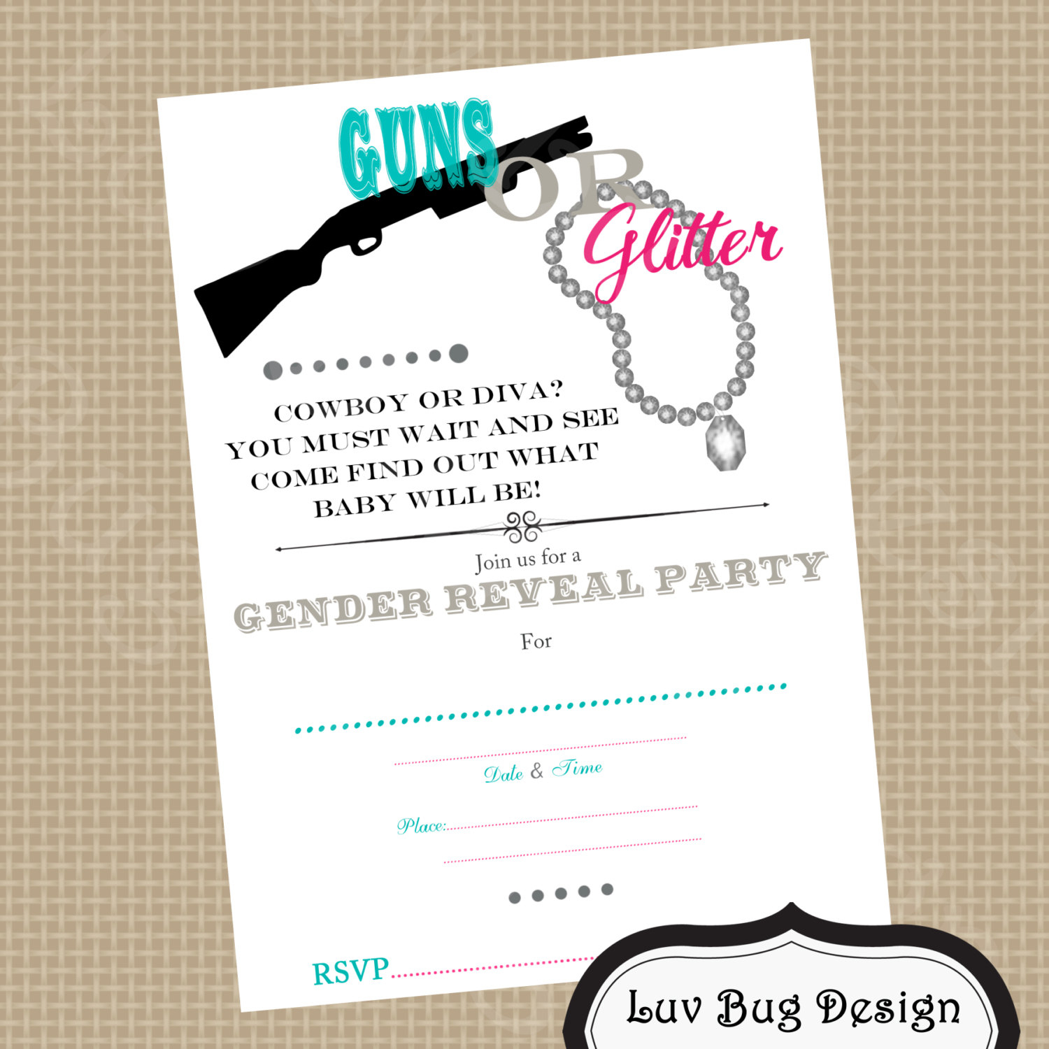 Free Printable Gender Reveal Party Invitations And The Invitations - Free Printable Gender Reveal Invitations