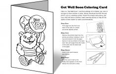 Free Printable Get Well Cards To Color – Printable Cards – Free Printable Cards To Color