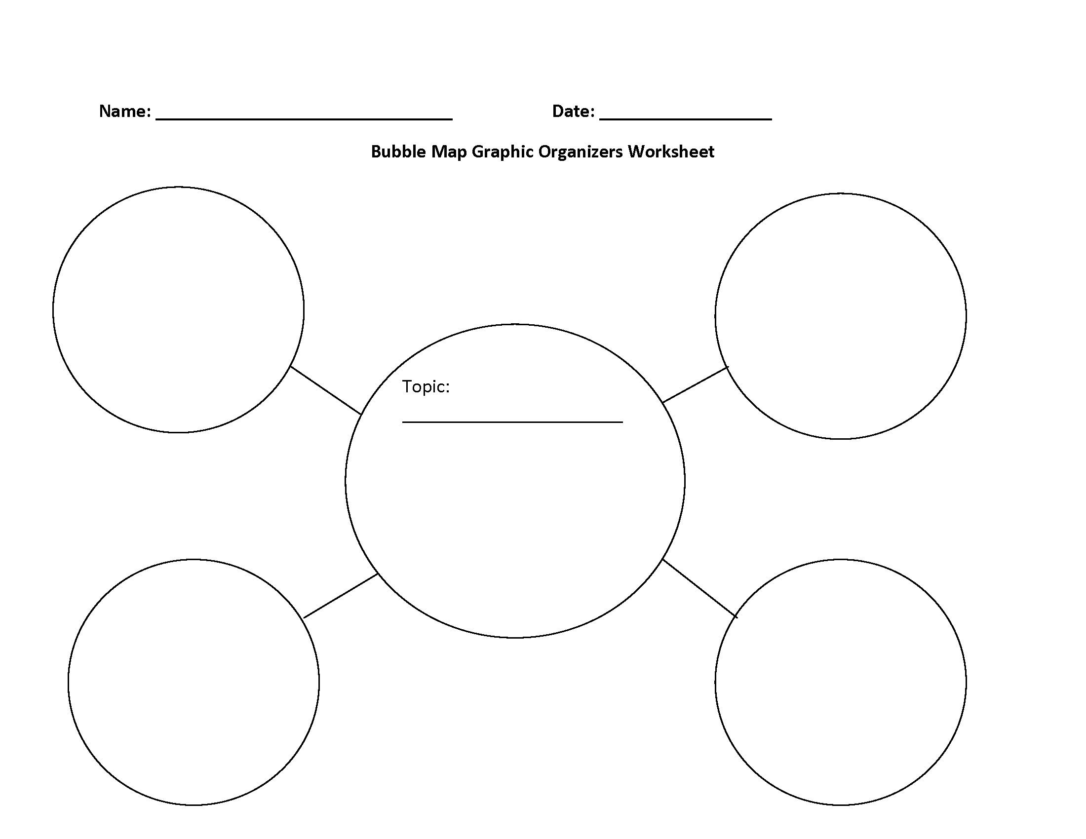 Free Printable Graphic Organizers | Bestprintable231118 - Free Printable Graphic Organizers