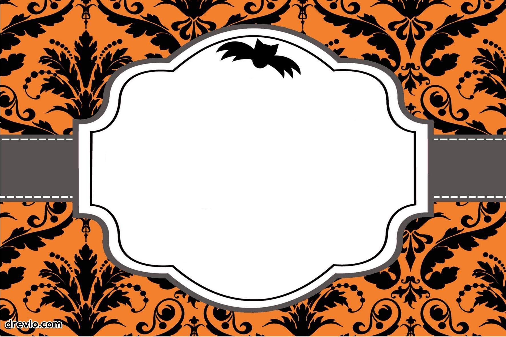 Free Printable Halloween Invitations | Free Printable Birthday - Free Halloween Birthday Invitation Templates Printable