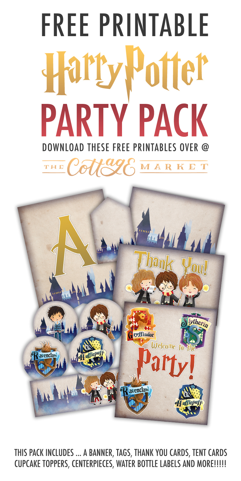 Free Printable Harry Potter Party Pack For All Occasions - The - Free Printable Harry Potter Pictures