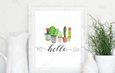 Free Printable Cactus