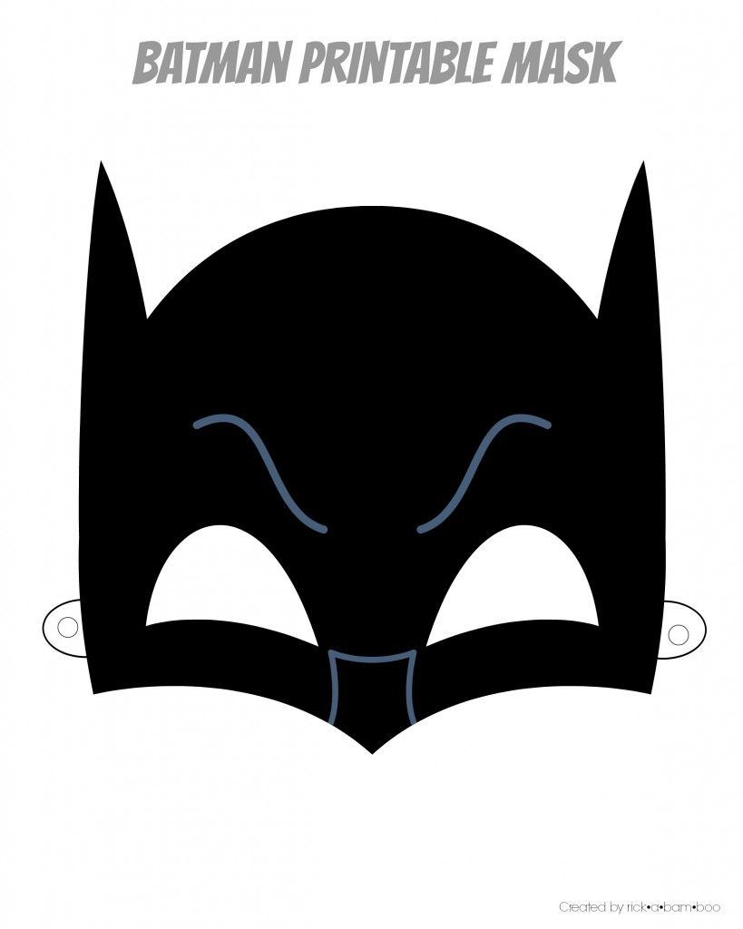 Free Printable Hero Masks | Ciné | Superhero Mask Template, Batman - Free Printable Batman Pictures