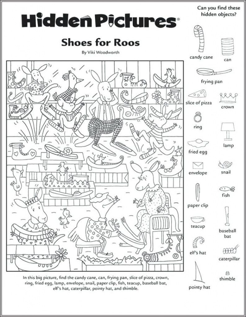 Free Printable Hidden Object Games   Free Printable - Free Printable Hidden Object Games