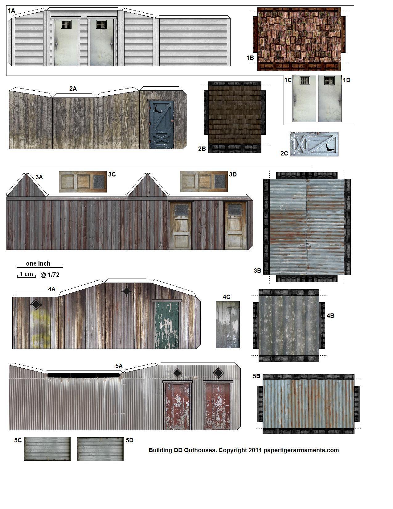 Free Printable Ho Scale Buildings, Free Printable Ho Scale Buildings - Free Printable Model Railway Buildings