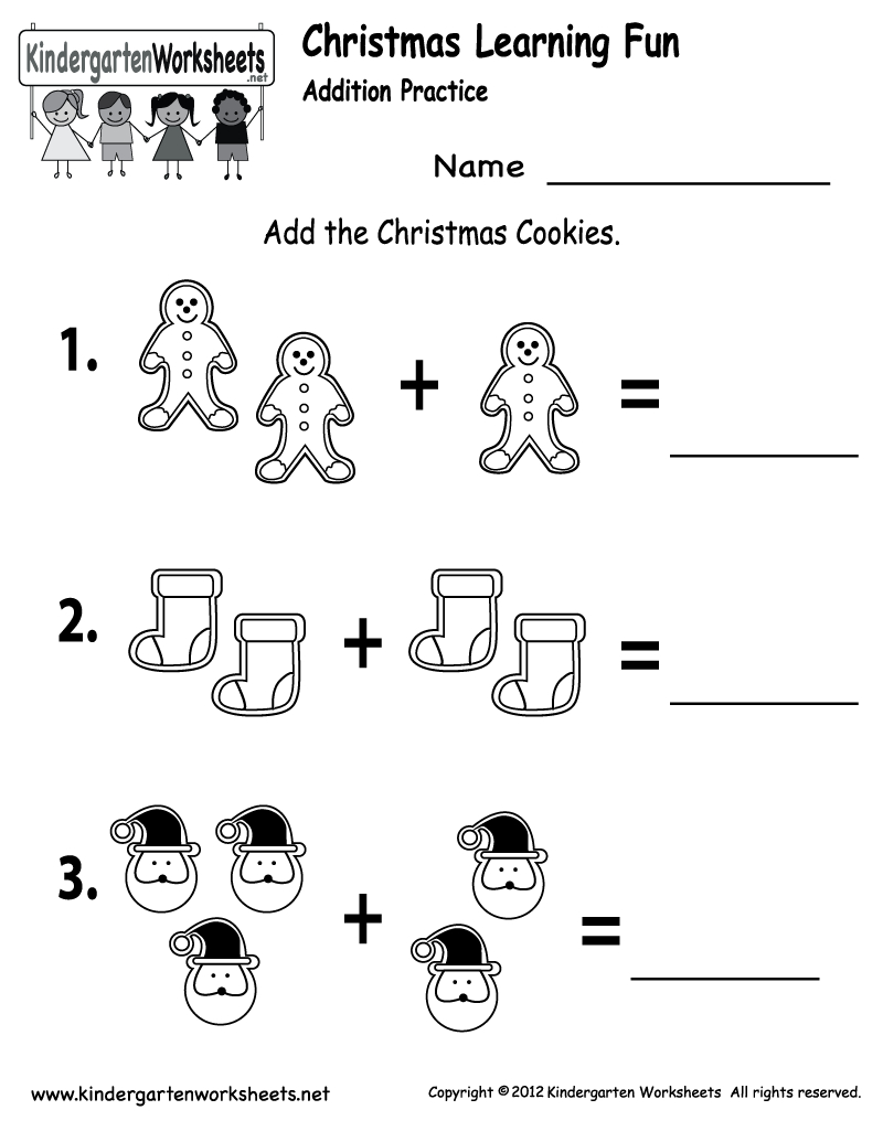 Free Printable Holiday Worksheets | Free Christmas Cookies Worksheet - Christmas Fun Worksheets Printable Free