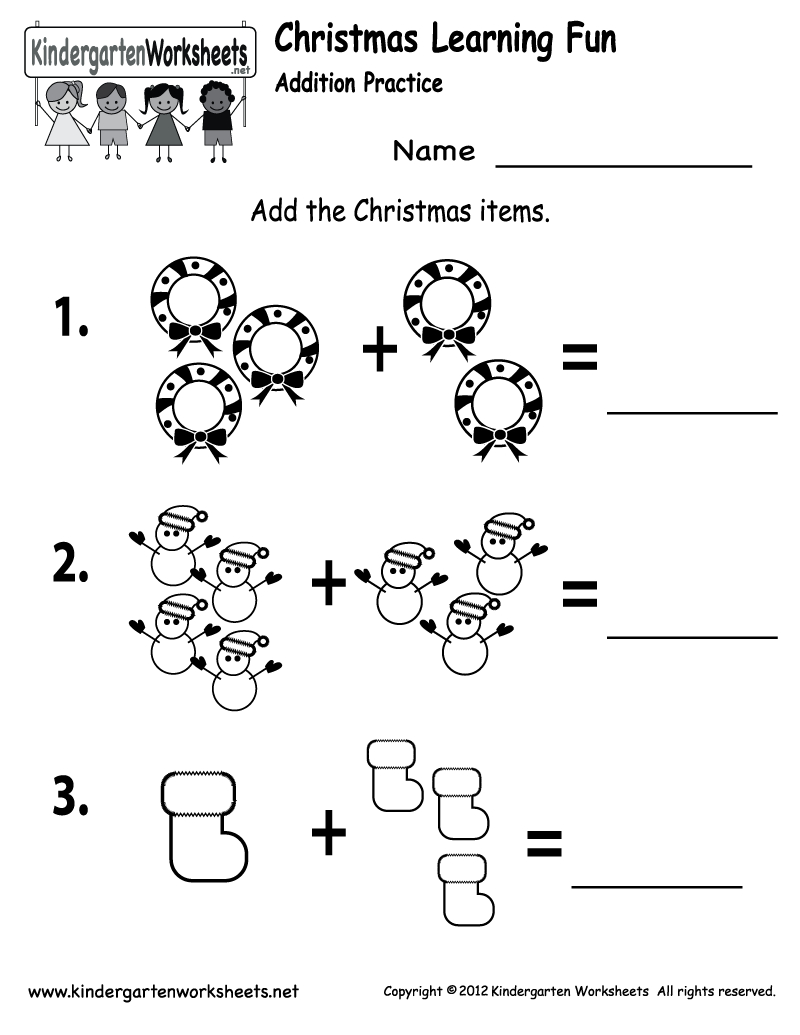 Free Printable Holiday Worksheets | Free Printable Kindergarten - Free Printable Kid Activities Worksheets