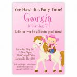 Free Printable Horse Themed Birthday Party Invitations | Free Printable – Free Printable Horse Themed Birthday Party Invitations
