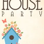 Free Printable House Party Invitation | Fonts/printables/templates   Free Printable Housewarming Invitations Cards