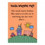 Free Printable Housewarming Party Templates Housewarming With Regard   Free Printable Housewarming Invitations Cards