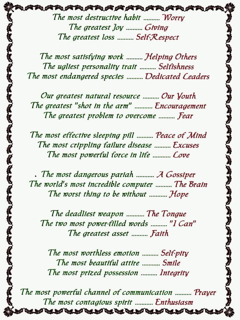 Free Printable Inspirational Poems   Inspirational Poems With - Free Printable Romantic Poems