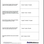 Free Printable Introductory Word Problem Worksheets For Addition For   Free Printable Math Word Problems For 2Nd Grade