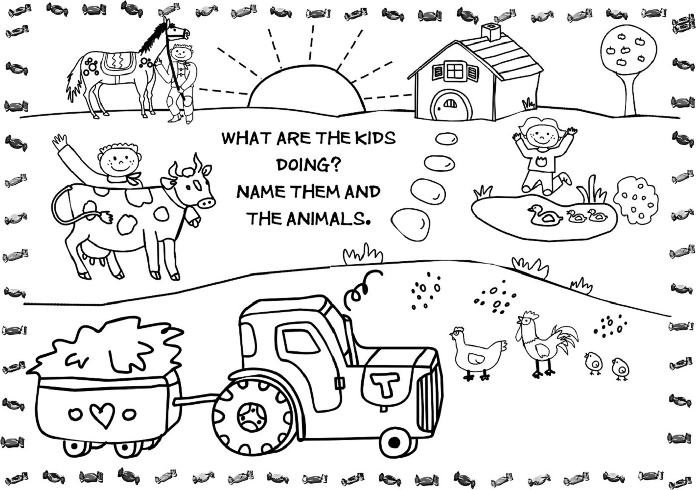 Free Printable Kids Activities 5 #28661 - Free Printable Activity Sheets For Kids