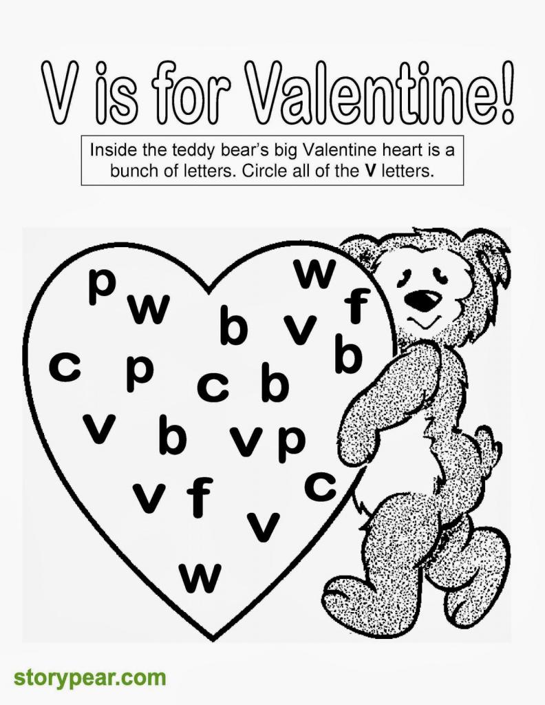 Free Printable Kindergarten Valentine Worksheets   Download Them And - Free Printable Preschool Valentine Worksheets