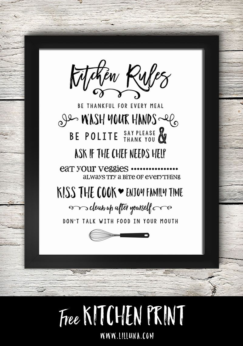 Free Printable Kitchen Signs | Printables | Pinterest | Kitchen - Free Printable Funny Posters