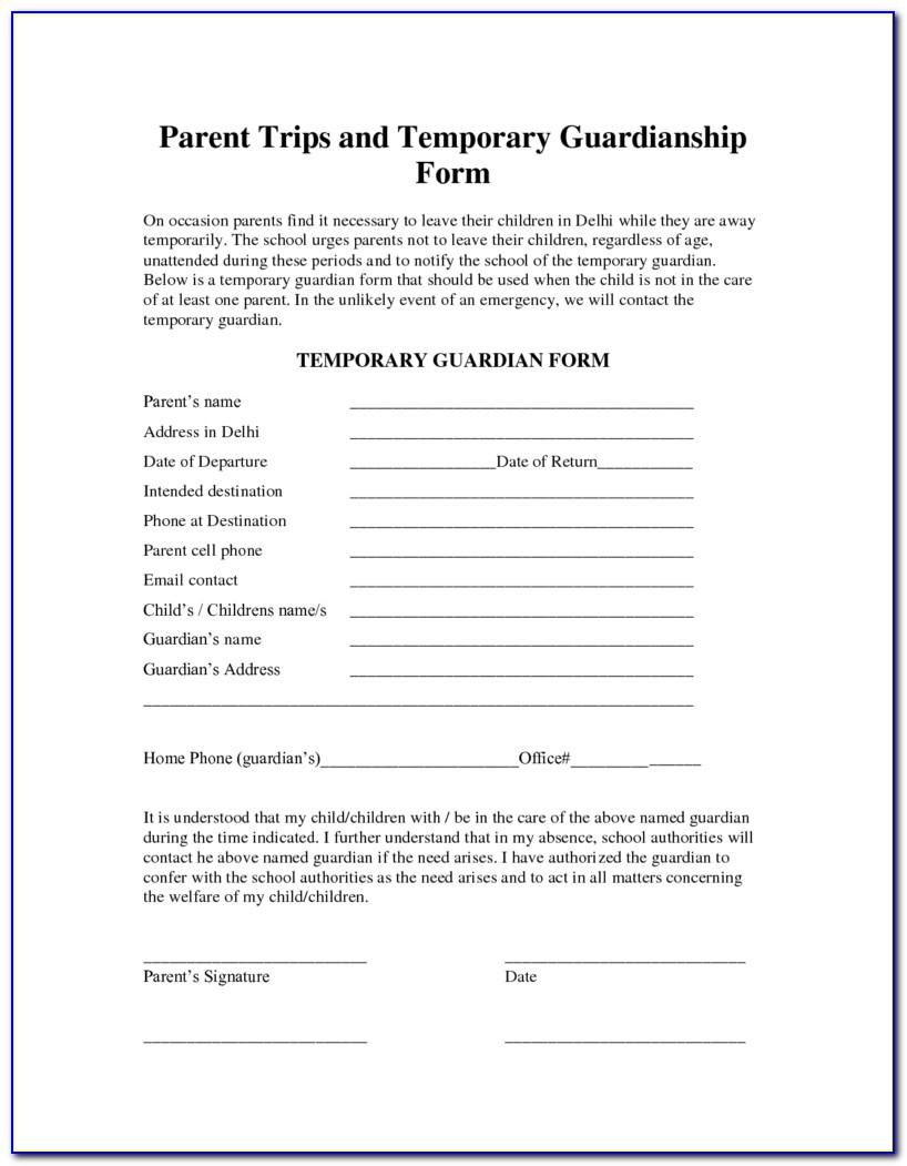 Free Printable Legal Guardianship Forms Florida - Form : Resume - Free Printable Legal Guardianship Forms