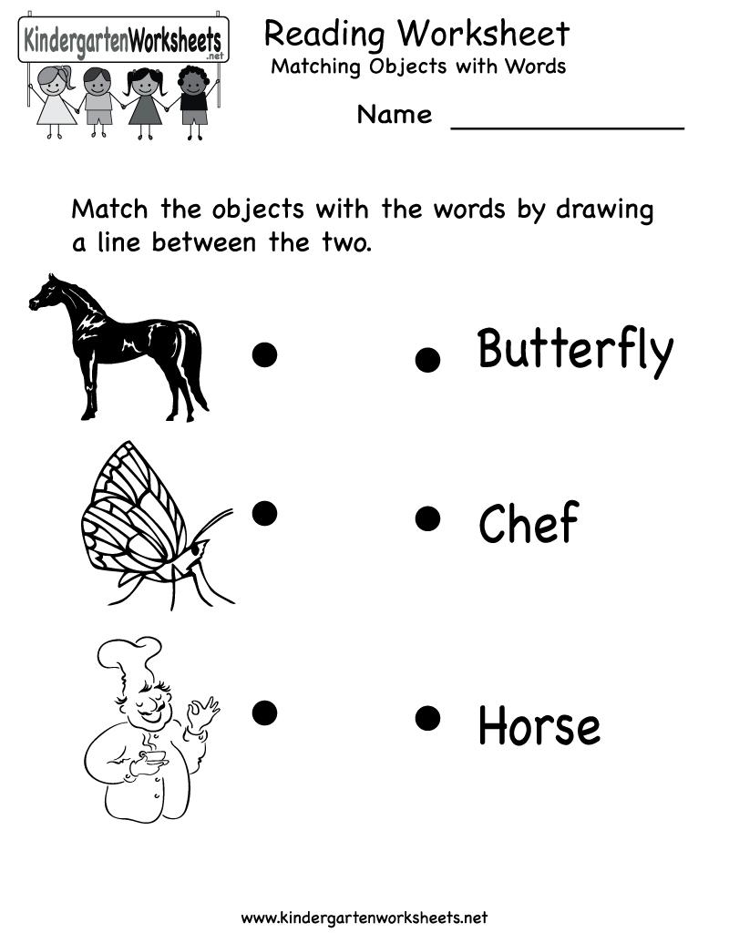 Free Printable Letter Worksheets Kindergarteners | Reading Worksheet - Free Printable Games For Toddlers