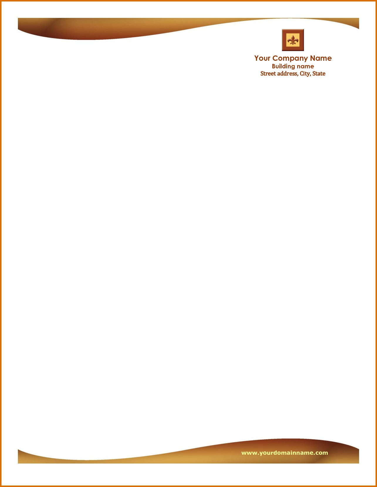 Free Printable Letterhead Examples | Template To Use When Writing - Free Printable Letterhead Templates