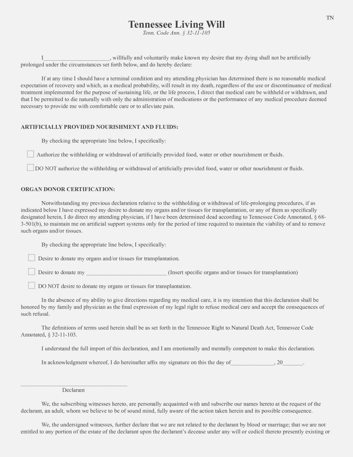Free Printable Living Will Template | Vastuuonminun – Free Simple - Free Printable Living Will