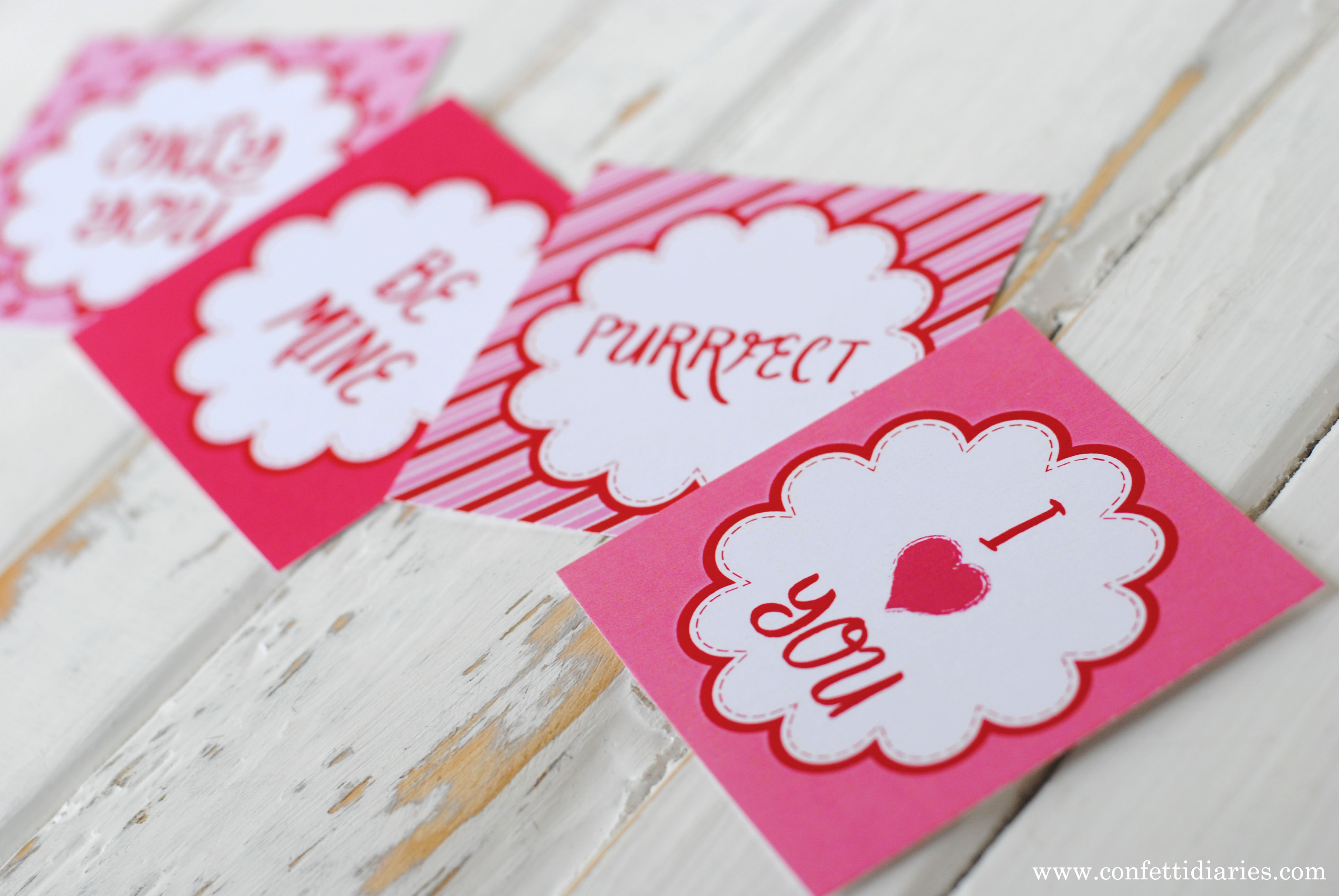 Free Printable Love Token Cards For Your Sweetheart - Katarina's Paperie - Free Printable Love Greeting Cards