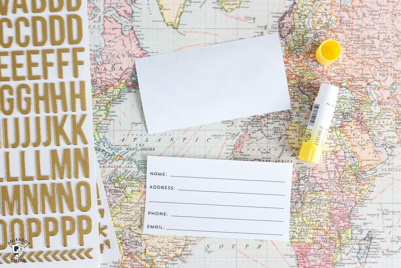Free Printable Luggage Tags - The Polka Dot Chair - Free Printable Luggage Tags