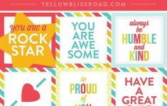 Free Printable Lunch Box Notes | Pinterest Best | Pinterest | Lunch – Free Printable Lunchbox Notes