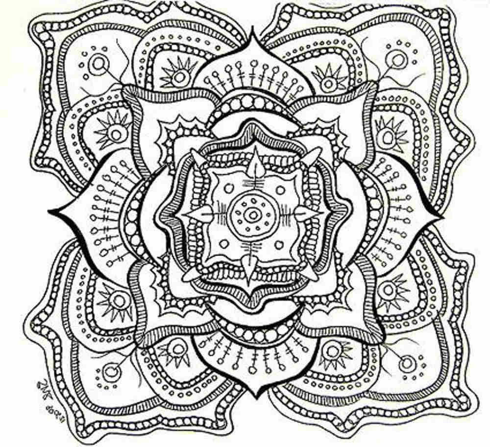 Free Printable Mandala Coloring Pages For Adults   Adult Coloring - Free Printable Coloring Book Pages For Adults