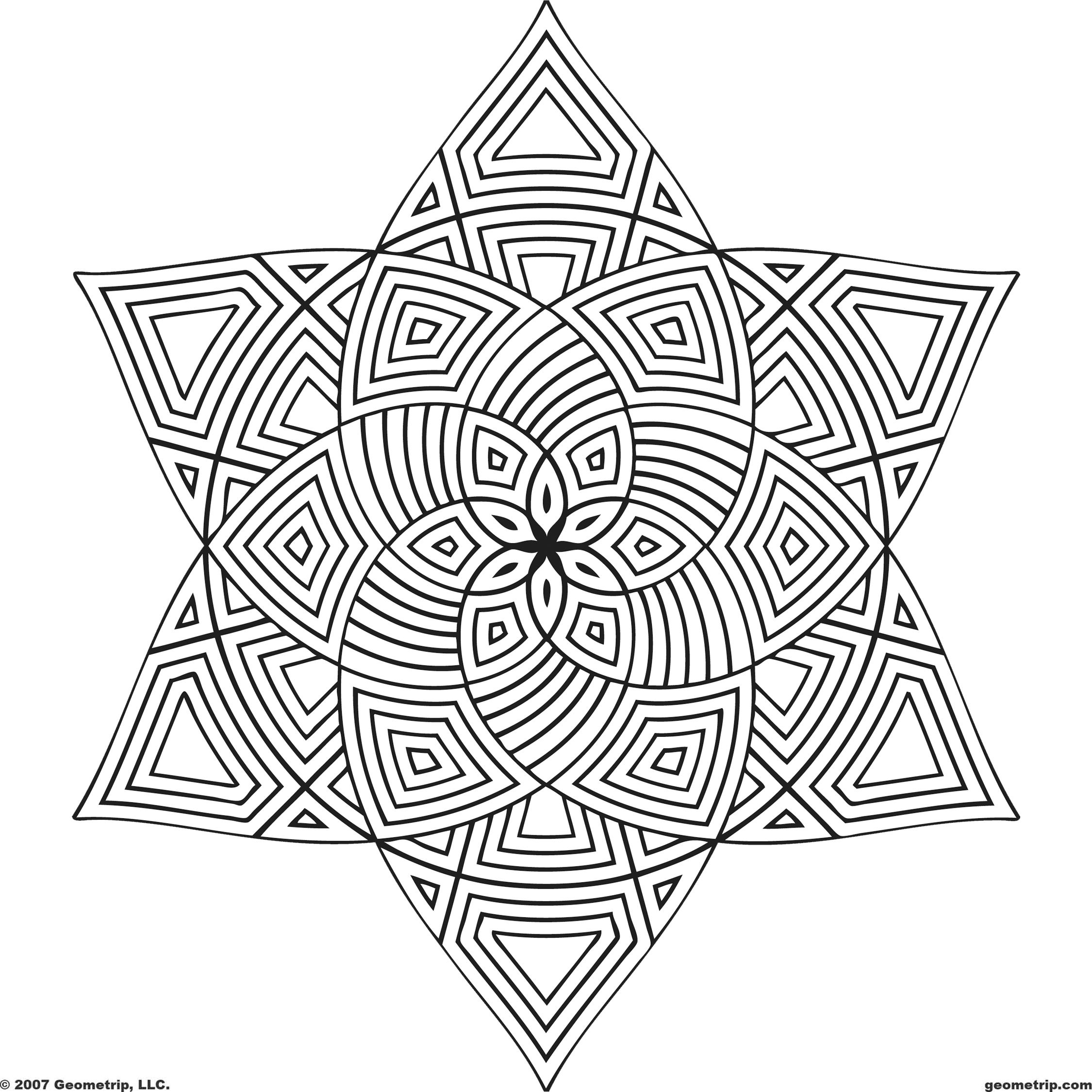 Free Printable Mandala Coloring Pages | Shapes: Page 1 Of 2 - Free Printable Mandala Coloring Pages