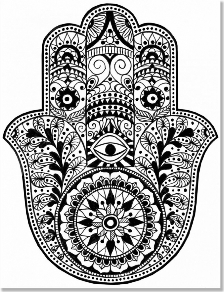 Free Printable Mandalas Coloring Pages Adults | Banatmodrengames - Free Printable Mandala Coloring Pages For Adults