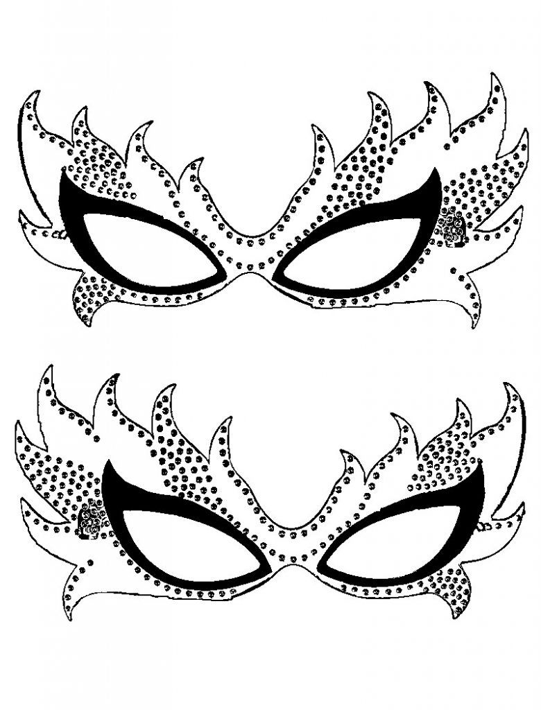 Free Printable Mardi Gras Coloring Pages For Kids | Behind The Mask - Free Printable Mardi Gras Masks