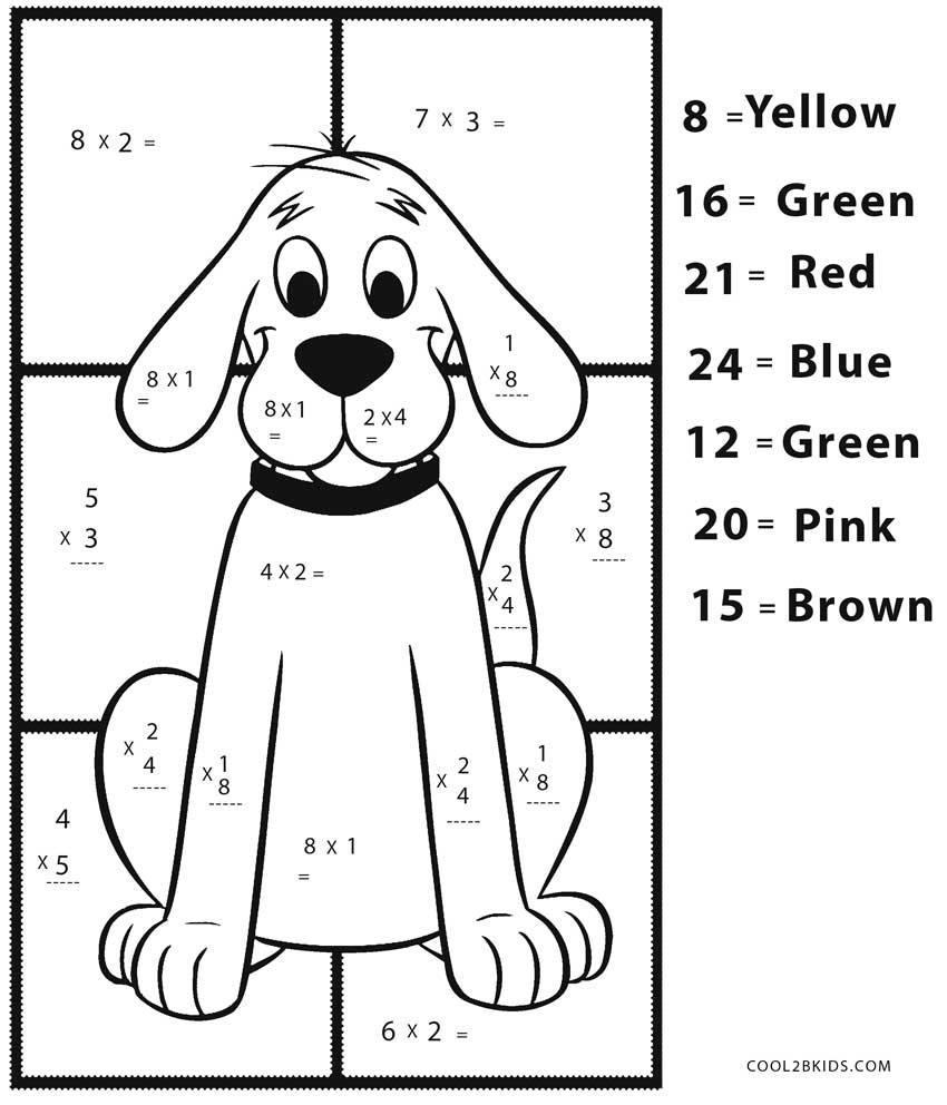Free Printable Math Coloring Pages For Kids   Cool2Bkids - Free Printable Math Coloring Sheets