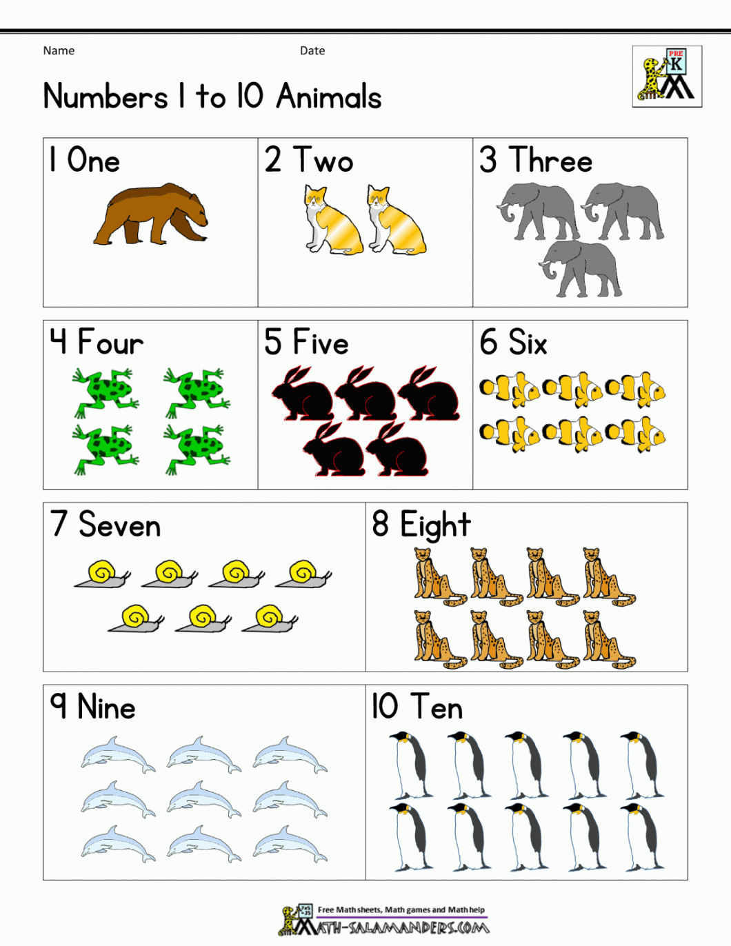 Free Printable Math Worksheets For Preschool And Kindergarten – With - Free Printable Math Workbooks