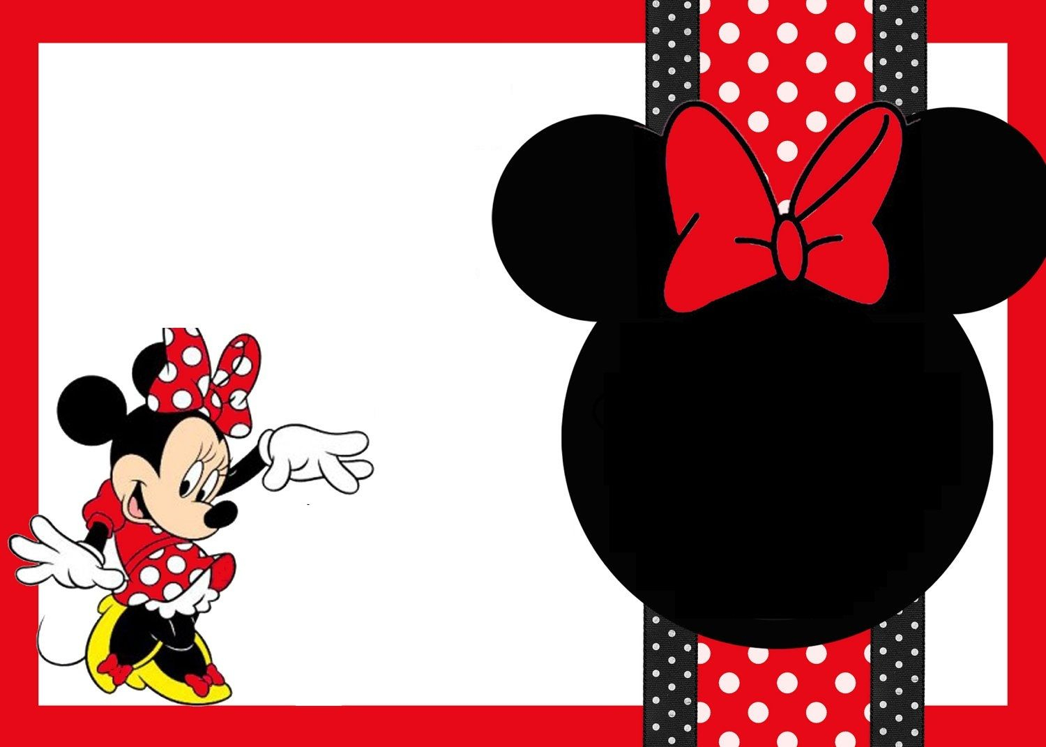 Free Printable Mickey Mouse Birthday Cards   Luxury Lifestyle - Free Printable Mickey Mouse Favor Tags