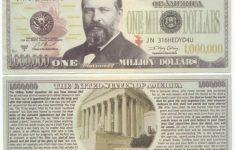 Free Printable Million Dollar Bill | Free Printable – Free Printable Million Dollar Bill