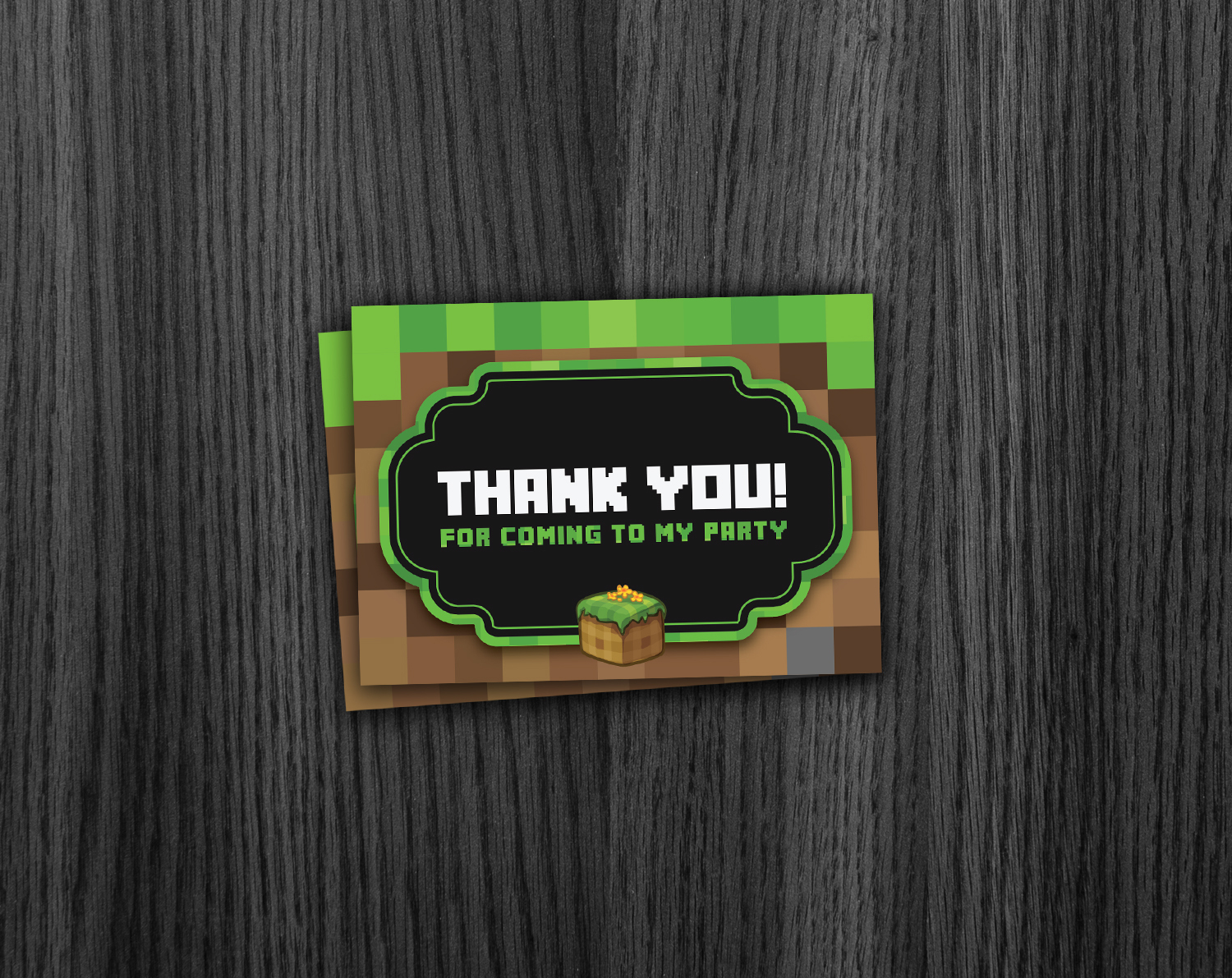 Free Printable Minecraft Thank You Notes | Download Them Or Print - Free Printable Minecraft Thank You Notes