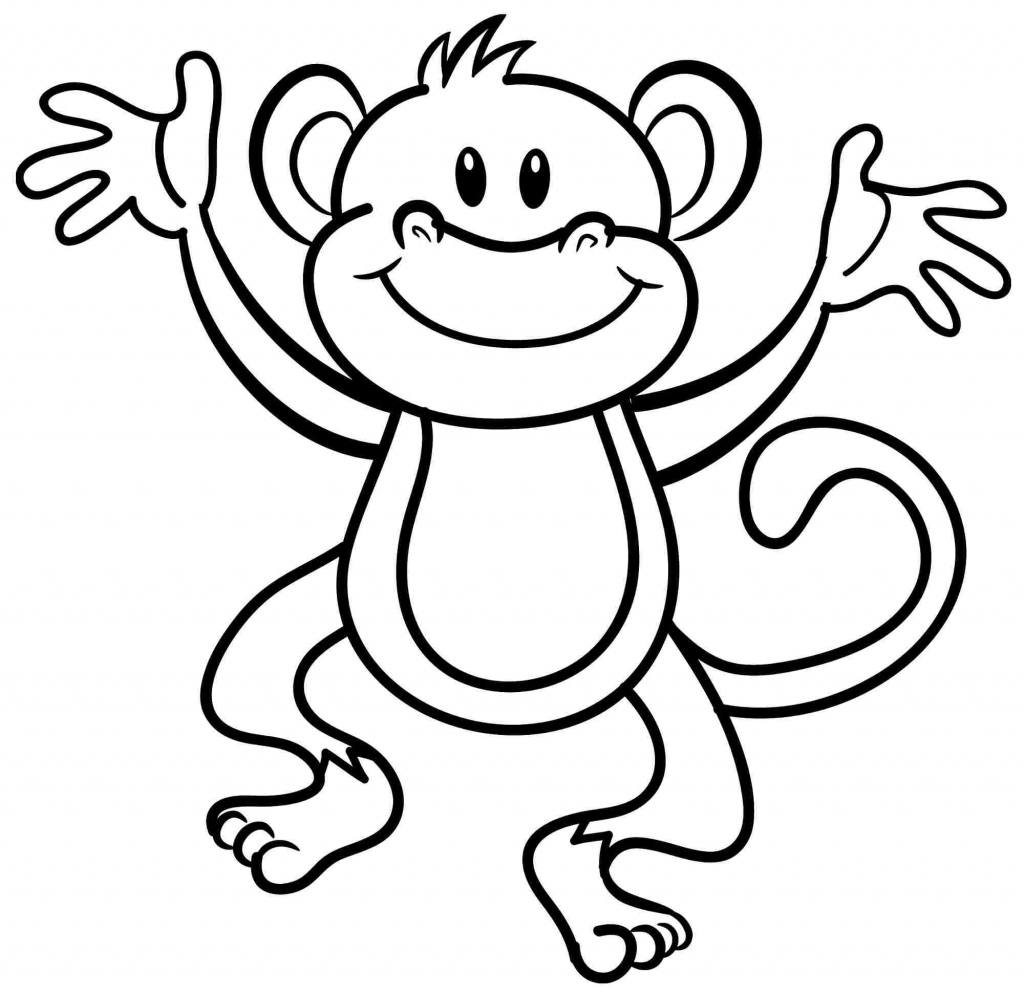 Free Printable Monkey Coloring Sheets | Printable Sheets - Free Printable Monkey Coloring Sheets