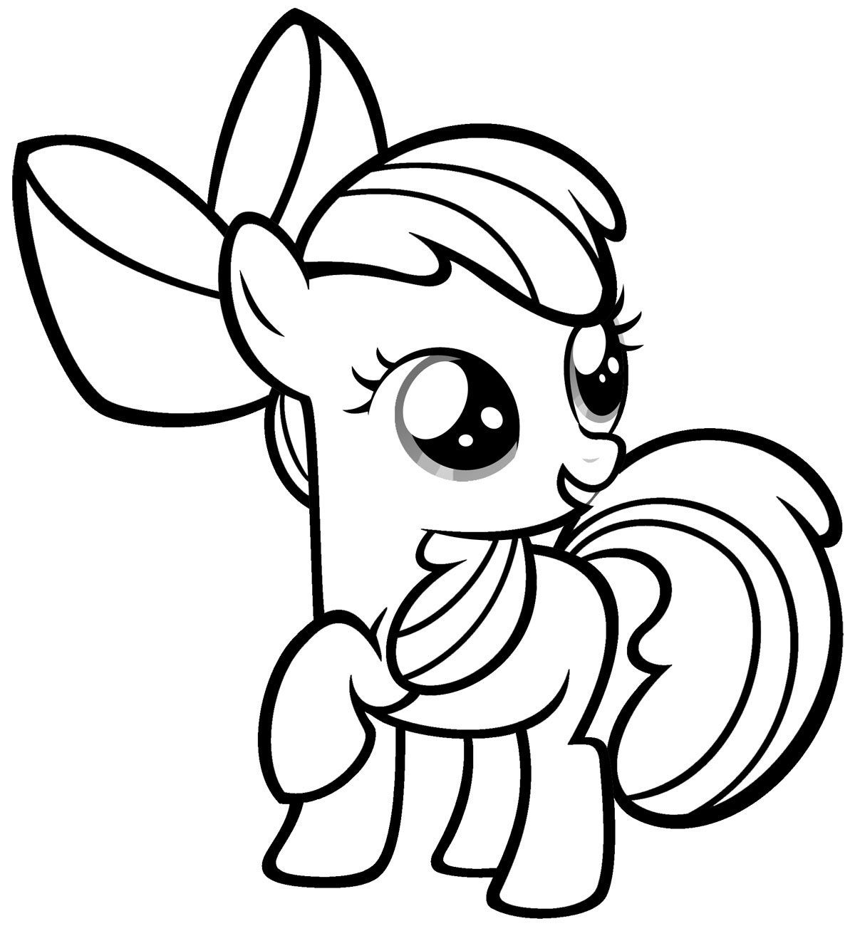 Free Printable My Little Pony Coloring Pages For Kids | Books Worth - Free Printable My Little Pony Coloring Pages