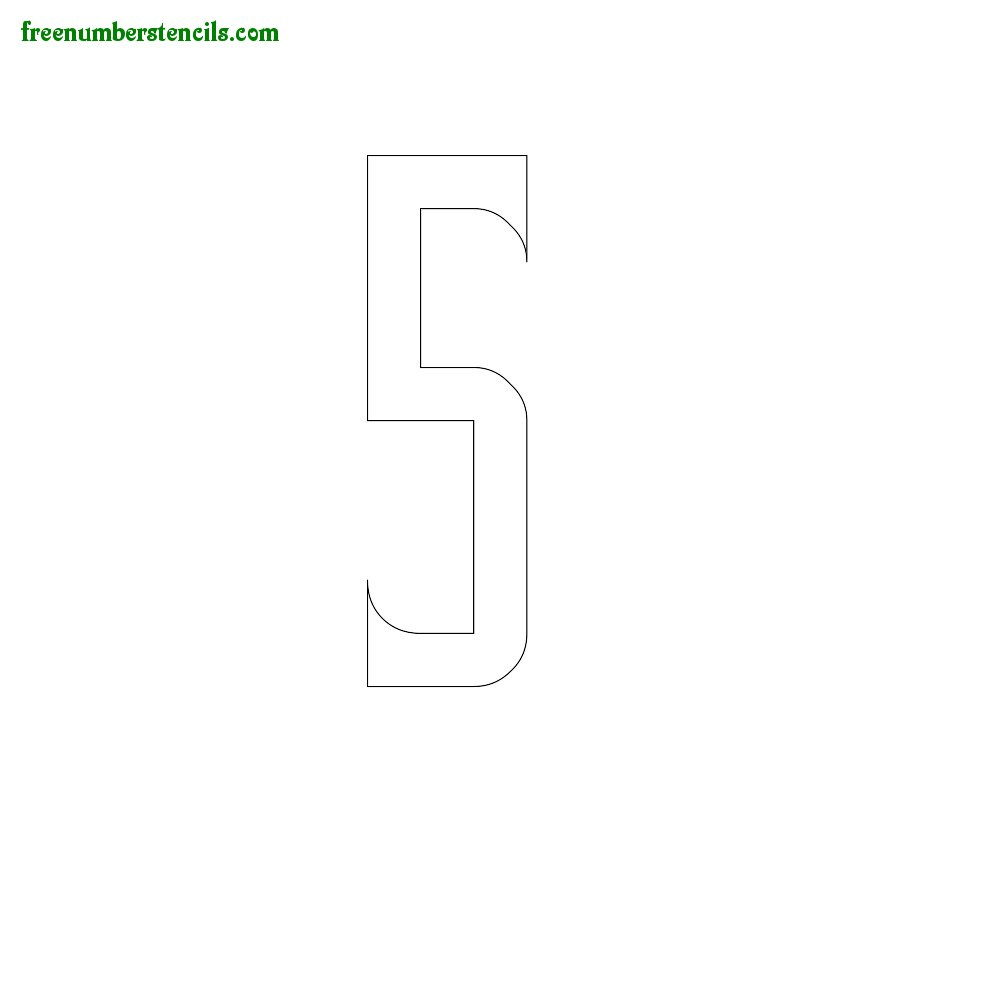 Free Printable Number Stencils For Painting : Freenumberstencils - Online Letter Stencils Free Printable